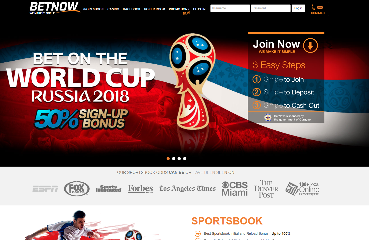 BetNow.eu USA Sportsbook Review + Free Bonus Bets