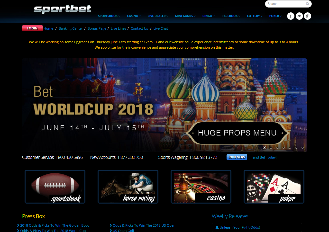 Sportbet.com USA Sportsbook Review + Free Bonus Bets