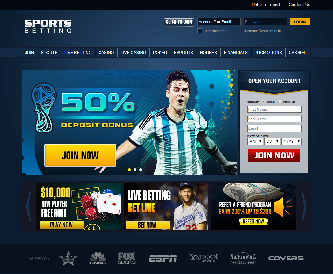 Sportsbetting.ag USA Sportsbook Review + Free Bonus Bets