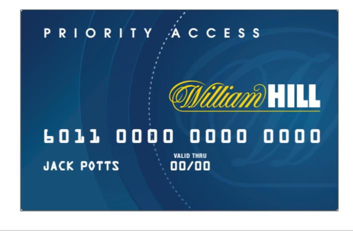 William hill bonus card